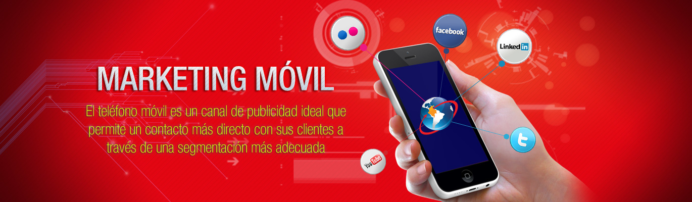 Servicio de Marketing Móvil - Colombia Digital Marketing